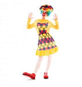 Déguisement Clown - Femme pas cher