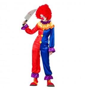 Déguisement Clown Diabolique femme