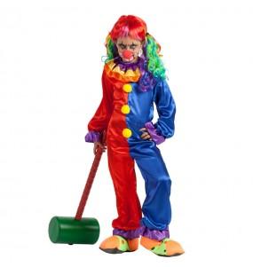 Déguisement Clown Diabolique fille