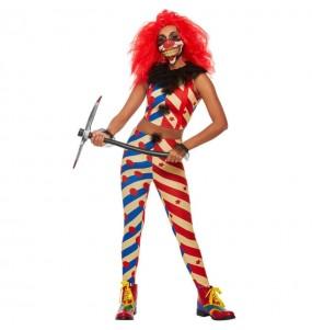 Déguisement Clown affreux femme