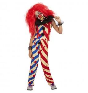 Déguisement Clown affreux fille