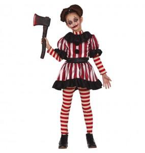 Déguisement Clown terreur fille