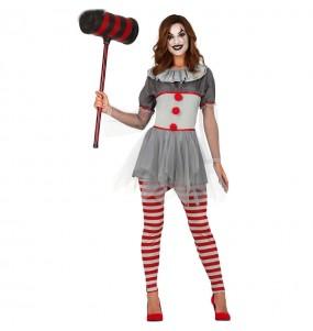 Déguisement Clown Malveillante femme