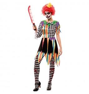 Déguisement Clown Tueur femme