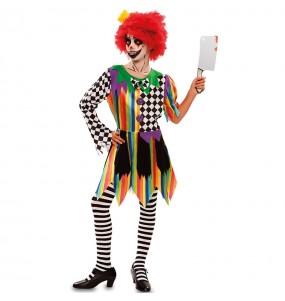 Déguisement Clown Tueur fille