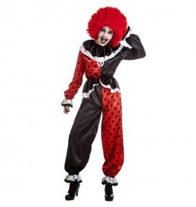 Déguisement Clown terrifiante femme