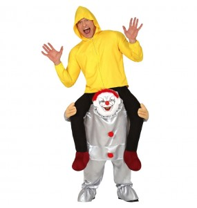 Déguisement Porte Moi Clown It adulte