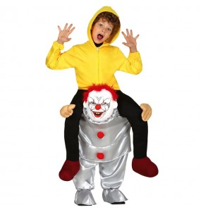 Déguisement Porte Moi Clown It enfant