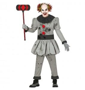 Déguisement Clown Tueur Méchant homme