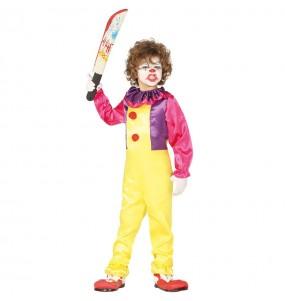 Déguisement Clown Tueur Pennywise garçon