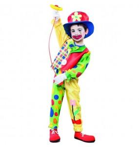 Déguisement Clown Garçon Amusant