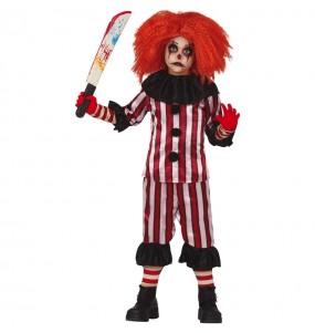 Déguisement Clown terreur garçon