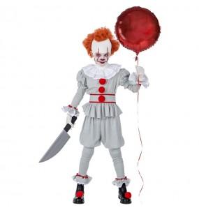 Déguisement Clown Bicolore