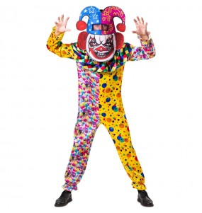 Déguisement Killer Clown Grosse Tête adulte