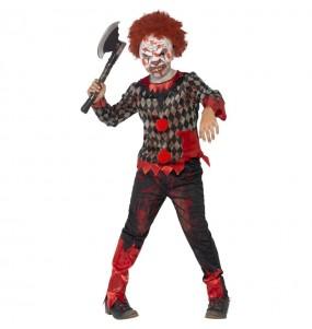 Déguisement clown maléfique garçon