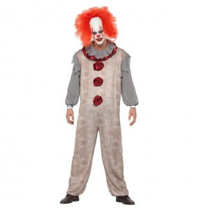 Déguisement Clown Pennywise gris homme