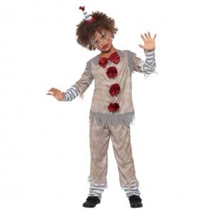 Déguisement Clown Pennywise gris garçon