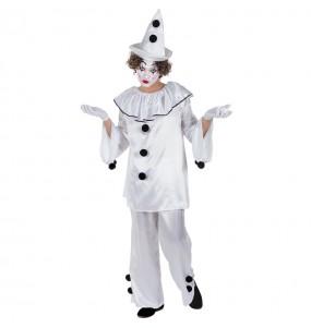 Déguisement Clown Pierrot pour homme