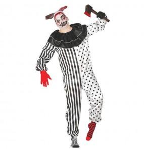 Déguisement Clown Psychopathe pour homme