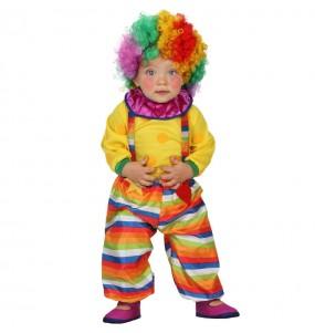 Déguisement Clown Rayé
