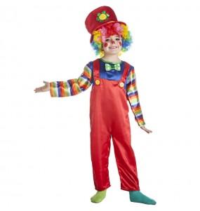 Déguisement Clown Rouge garçon