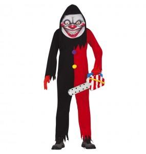 Déguisement Clown au Sourire diabolique homme