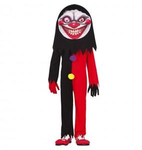 Déguisement Clown au sourire diabolique garçon