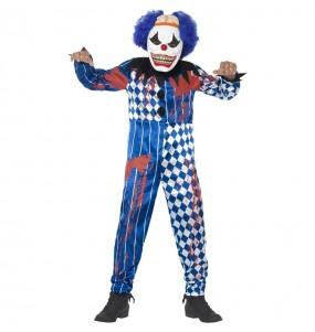Déguisement clown terrifiant garçon