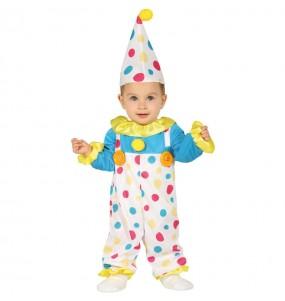 Déguisement Clown à pois bébé
