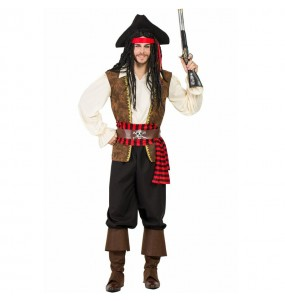 Déguisement Pirate en haute mer homme