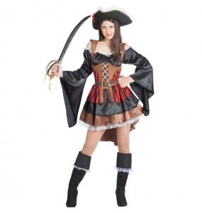 Déguisement Pirate Boucanière femme