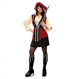 Déguisement Pirate Squelette femme