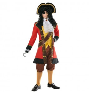 Déguisement Pirate Capitaine Hook homme