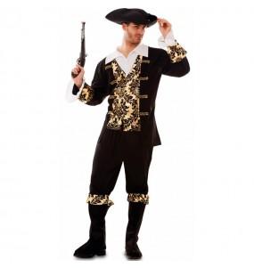 Déguisement Pirate Doré homme