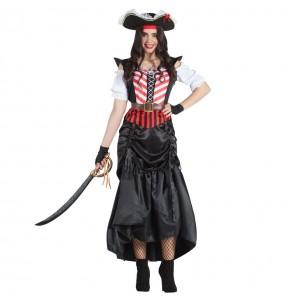 Déguisement Pirate Swordman femme