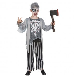 Deguisement Pirate zombie garcon