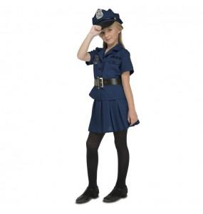 Déguisement Policière New York pour fille