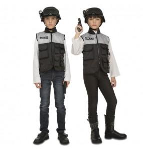 Déguisement Policier SWAT avec accessoires pour enfants
