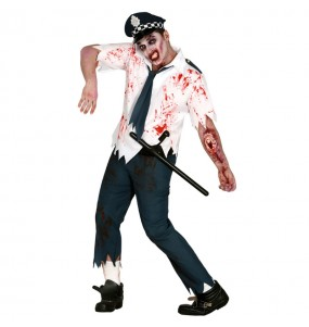 Déguisement Policier Zombie
