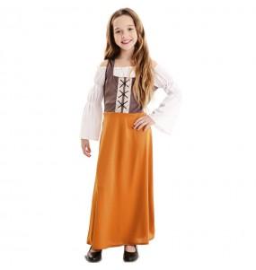Déguisement Aubergiste Moyen Âge fille