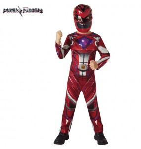 Déguisement Power Ranger Rouge pour garçon