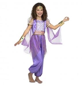 Déguisement Princesse Arabe violet fille