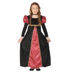 Déguisement Princesse Court Médiévale fille