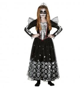 Déguisement Princesse Squelette fille