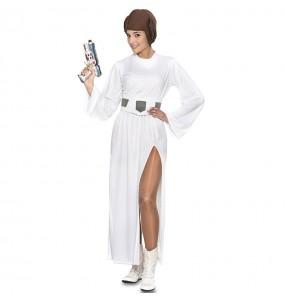 Déguisement Princesse galactique Leia femme
