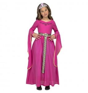 Déguisement Princesse Médiévale Catherine fille