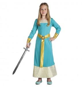 Déguisement Princesse Médiévale élégante fille