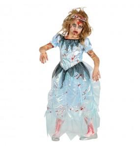 Déguisement Princesse Zombie fille