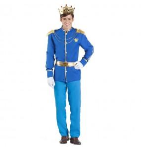 Déguisement Prince Charmant Cendrillon homme