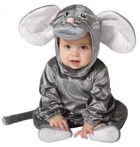 Déguisement Souris grise bébé